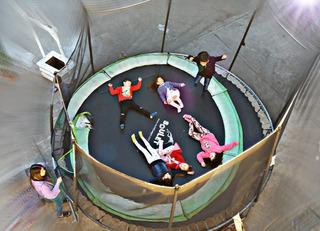 Cama Elastica 4.3m Saltarin Gigante Usada