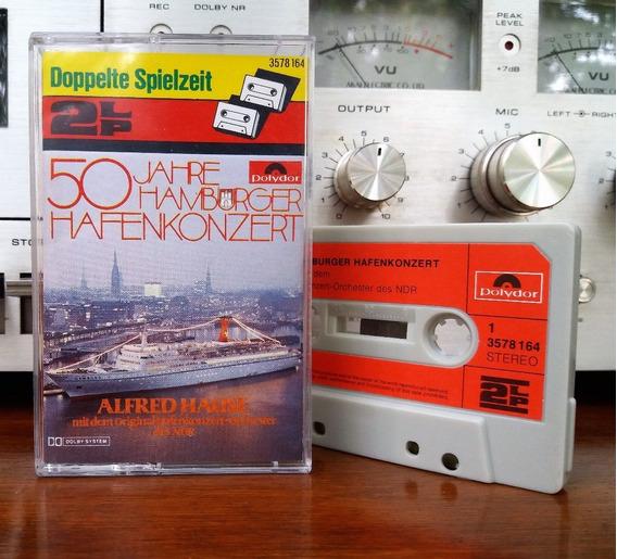 Alfred Hause - 50 Jahre Hamburger Hafenkonzert Cassette@