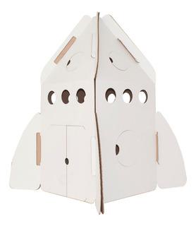 Cohete Estelar De Cartón Mamut Cardboard Toys