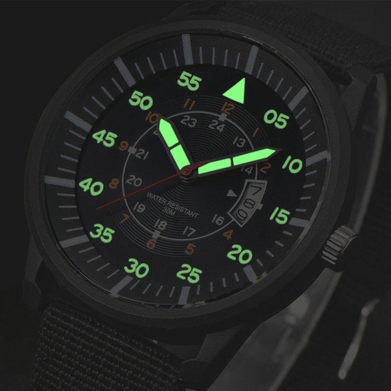 Relógio Masculino Analógico Barato Calendário Xi New Verde