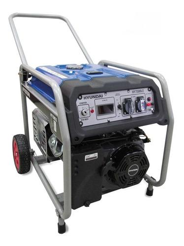 Generador Hyundai Monofásico  7000w Hy7500le