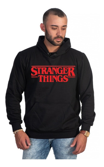 Moletom Stranger Things Series Estiloso Unissex Em Promoção