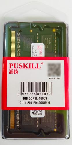 Imagen 1 de 1 de Memoria Ram Laptop Pc3l 1600mhz Ddr3l Pc3l 4gb Chip Hynix