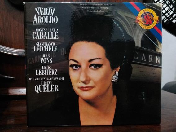 Cd Verdi - Aroldo / Caballé, Pons - Eve Queller Box 2 Cds