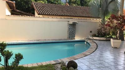 Localização Privilegiada - Sobrado Alto Padrão - 3 Dorm Sendo 3 Suites, Piscina, Churrasqueira, 7 Vagas - Canto Do Forte - Praia Grande - Ra3f749s - 33355872