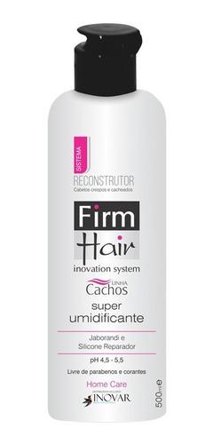 Kit Shampoo + Super Umidificante Firm Hair 500 Ml Cachos