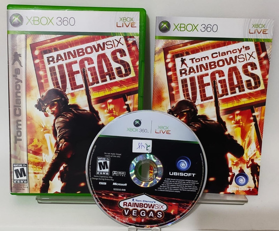 Raimbow Six Vegas - Xbox 360 Original - Semi Novo