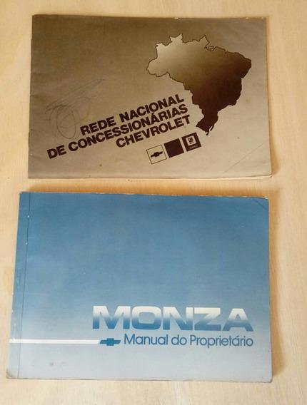 Manual Do Proprietario Monza 1989