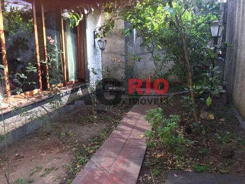 Casa De Rua-à Venda-jardim Sulacap-rio De Janeiro - Vvca60001