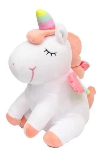 Peluche Unicornio Sentado 25 Cm
