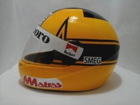 Capacete Gilles Villeneuve