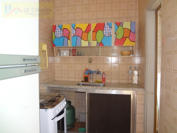Kitnet Para Venda Em Praia Grande, Canto Do Forte, 1 Banheiro - Kt08