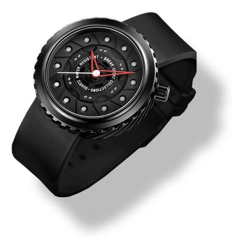 Relogio Break Watch Design Pneu Diver 30m Original