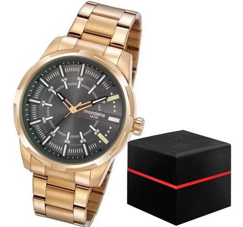 Imagem 1 de 3 de Relógio Masculino Dourado Mondaine 99469gpmvde3