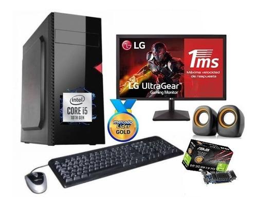 Imagen 1 de 7 de Cpu Intel Core I5 10ma Gen/1tb 8gb Gt-610 2gb Led 20 Inc Iva