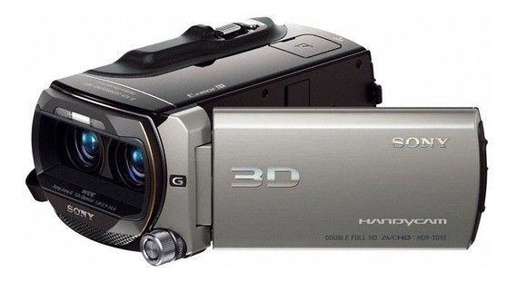 Filmadora Digital 3d Full Hd Sony Hdr-td10