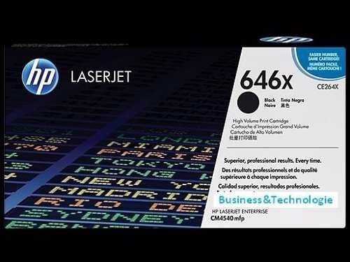 Toner 646x Ce264x Cm4540 Mfp Remanufacturado Larga Duracion