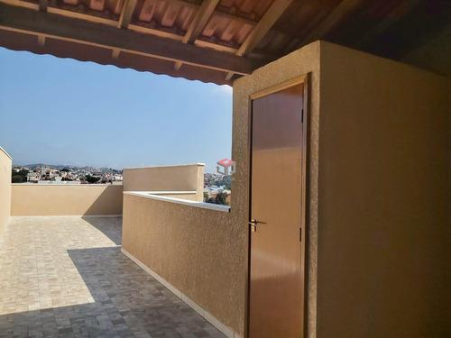 Cobertura À Venda, 2 Quartos, 1 Suíte, 1 Vaga, Cecília Maria - Santo André/sp - 97447