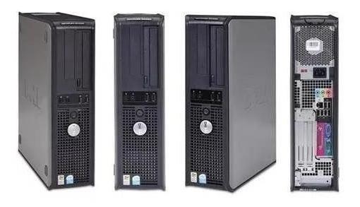 Cpu Pc Dell Intel Dual Core 8gb Hd 250 Win.7 + Monitor 17