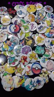 Bottons, Buttons, Broches, Pins, Boton Diversos Pokémon Go