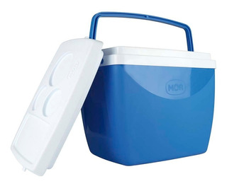 Caixa Térmica Cooler 18 Litros Bebidas Lanches Copos - Mor