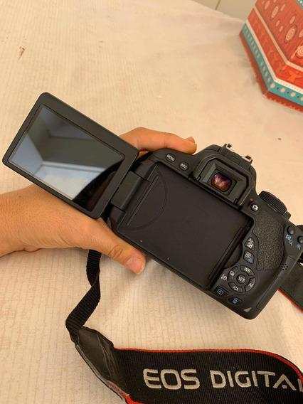 Câmera Cânon T5i Com Lente Ef50mm