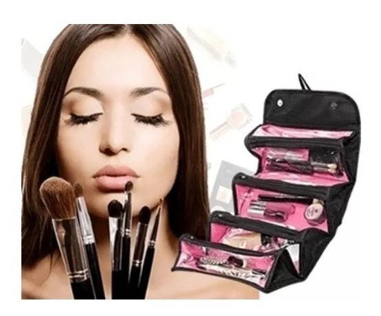 Organizador Bolsa Cosmética Roll N Go Bag Porta Maquiagem