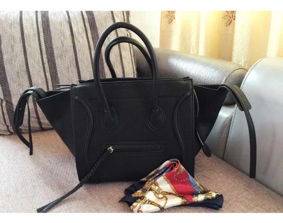 Bolsa Bag Couro Famosa