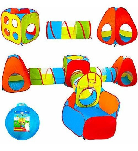 Playz Ball Pit, Tienda De Campaña Y Túneles Para Niños, Reg