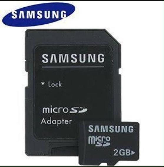 Cartão De Memória Samsung - 2 Gigas - Imperdível