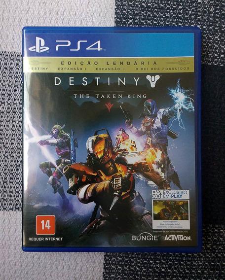 Destiny The Taken King - Edição Lendária - Games/jogos Ps4