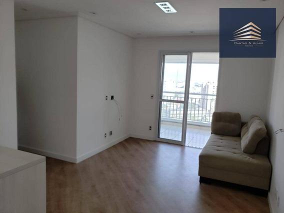 Apartamento Na Vila Augusta, Condomínio Clip, 2 Dormitórios, 1 Suíte, 1 Vaga Coberta. - Ap0851