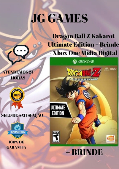 Dragon Ball Z Kakarot Ultimate - Xbox One Midia Digital