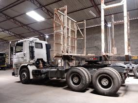 Scania 113 Traçado 6x4 Com Carreta Florestal