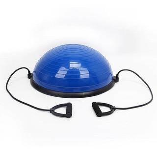 Meia Bola Azul Pilates Yoga Wct Fitness Funcional