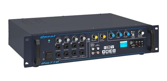 Mixer Oneal Amplificador Om770 Sd/usb Radio 70 Volts