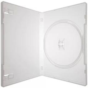 Box Capa Dvd 50 Capinhas Estojo Transparente Bem Resistente