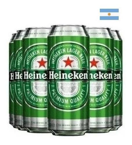 Imagen 1 de 1 de Promo Cerveza Heineken Lata 473 Ml X 48 Latas. Envío Gratis!