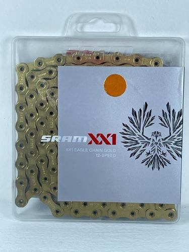 Cadenilla Sram Eagle Pc-xx1 Gold 12vel