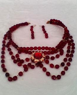 Collar De Cristal Swarovski