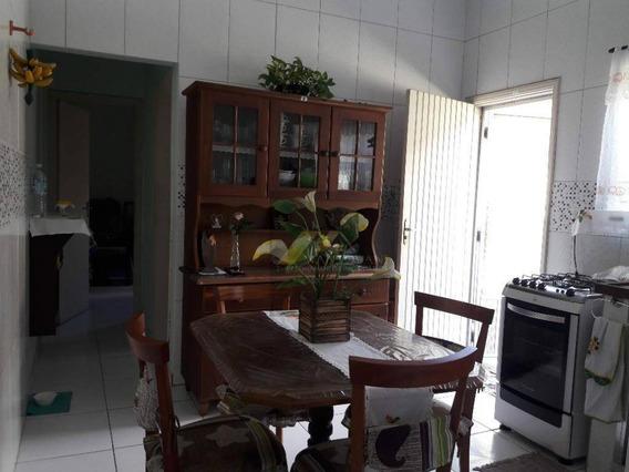 Casa Com 02 Dormitórios, Bairro Aviação , Praia Grande/sp - Ca0179