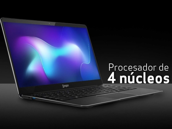 Laptop Siragon Nb- 5000 Procesador 4 Nucleos / Ultra Slim