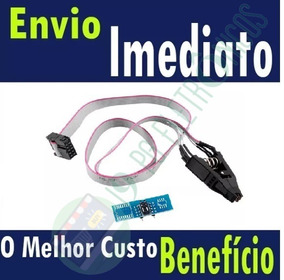 Alicate Pinça Clip Soic8 Sop8 Soic8 + Cabinho+soic+reforçado