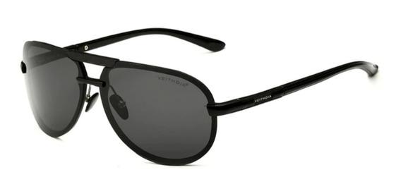 Óculos De Sol Aviador Masculino Feminino Polarizado Uv400 Dirigir Anti Reflexo Veithdia 6500 Original