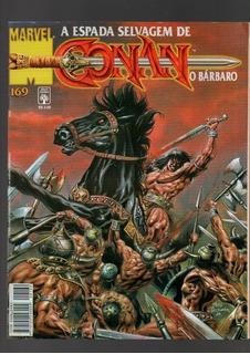 Hq A Espada Selvagem De Conan Saga Coleção 11 Revistas(466)