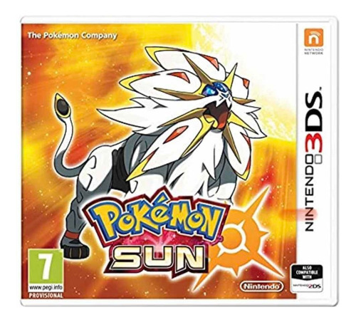 Juego Nintendo 3ds Pokemon Sun
