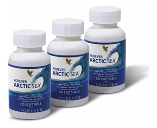 Kit Com 3 Forever Arctic Sea Omega 3