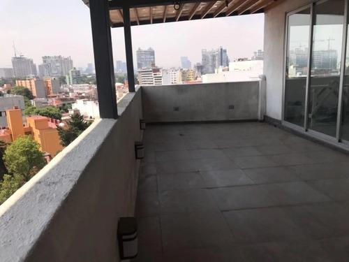 Bonito Ph Con Roof Garden Privado En General Anaya