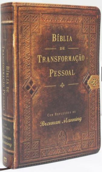 Bíblia De Transformação Pessoal - Com Reflexões
