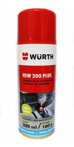 Higienizador De Ar Condicionado Hsw200 Wurth Lima Limão